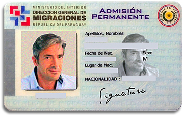 Paraguay Permanent Residency-Card, Paraguay immigration