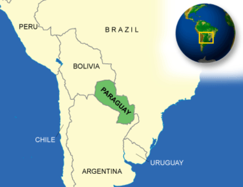 Paraguay Permanent Residency-Paraguay-Map02, Paraguay immigration